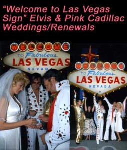"""Welcome to Las Vegas Sign"" Elvis Limousine"